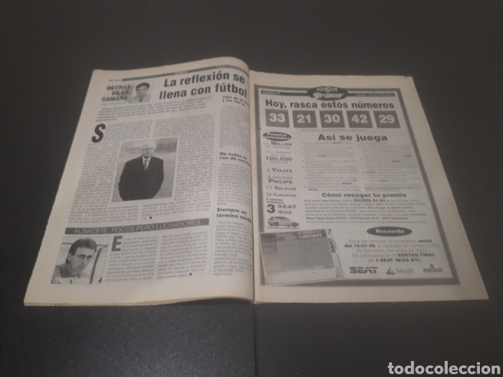 Coleccionismo deportivo: SPORT N° 5762. 18 DE NOVIEMBRE 1995. - Foto 8 - 255998290
