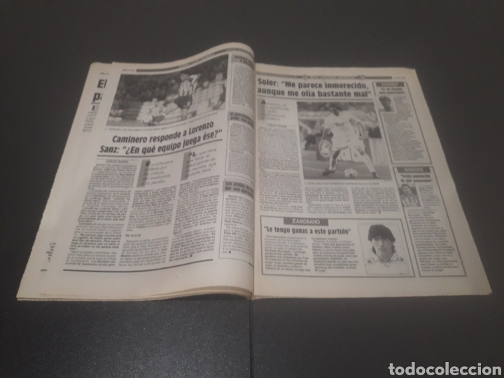 Coleccionismo deportivo: SPORT N° 5762. 18 DE NOVIEMBRE 1995. - Foto 11 - 255998290