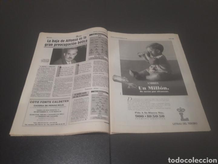 Coleccionismo deportivo: SPORT N° 5762. 18 DE NOVIEMBRE 1995. - Foto 12 - 255998290