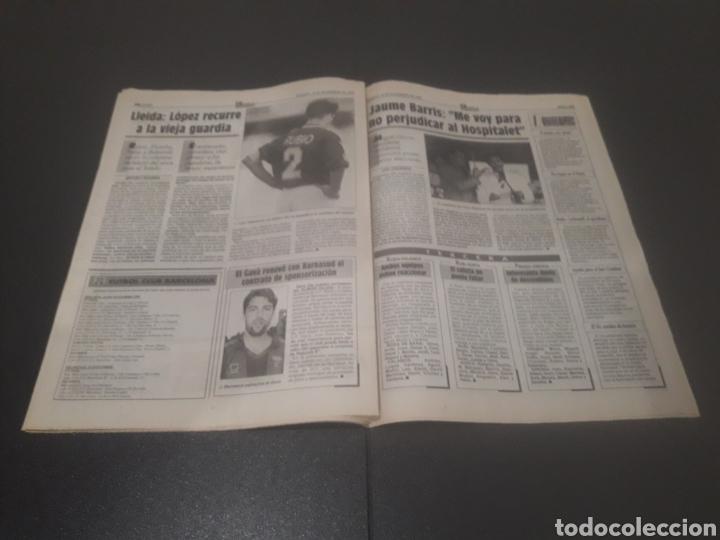 Coleccionismo deportivo: SPORT N° 5762. 18 DE NOVIEMBRE 1995. - Foto 19 - 255998290