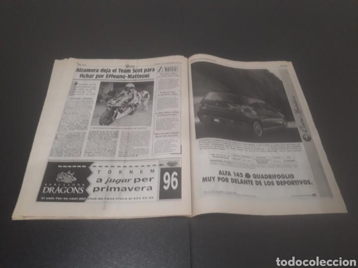 Coleccionismo deportivo: SPORT N° 5762. 18 DE NOVIEMBRE 1995. - Foto 25 - 255998290