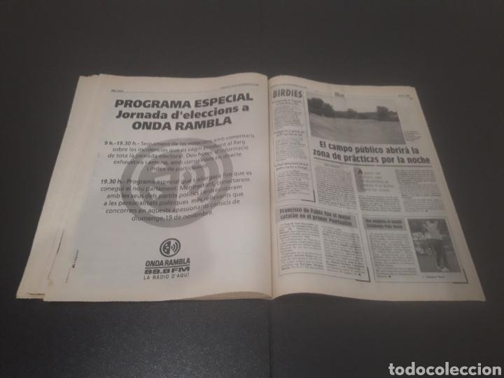 Coleccionismo deportivo: SPORT N° 5762. 18 DE NOVIEMBRE 1995. - Foto 29 - 255998290