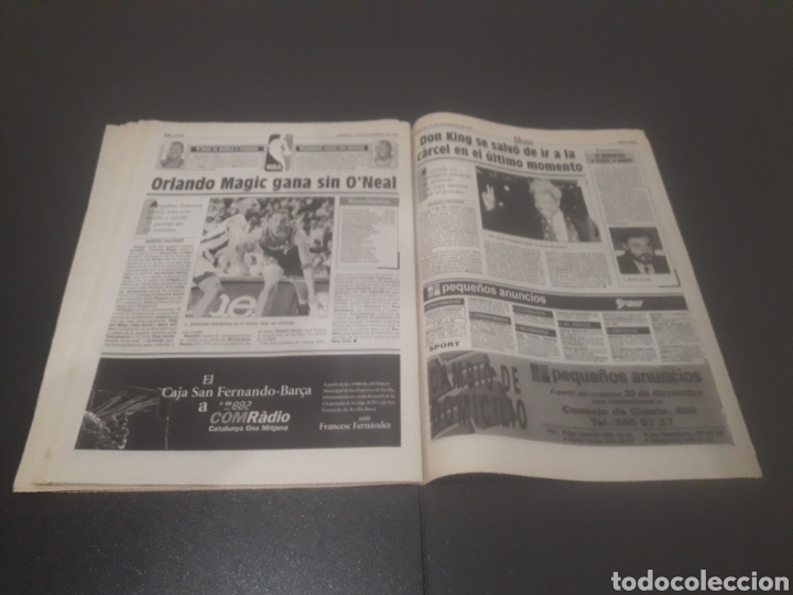 Coleccionismo deportivo: SPORT N° 5762. 18 DE NOVIEMBRE 1995. - Foto 32 - 255998290