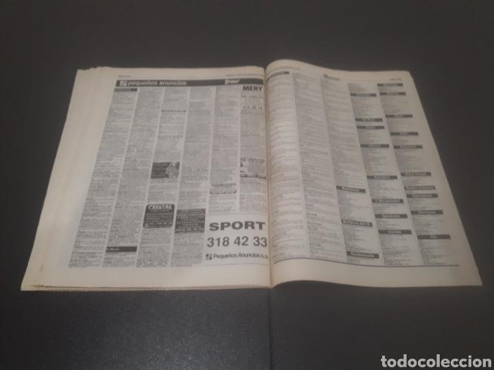 Coleccionismo deportivo: SPORT N° 5762. 18 DE NOVIEMBRE 1995. - Foto 33 - 255998290