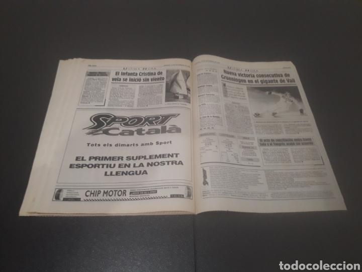 Coleccionismo deportivo: SPORT N° 5762. 18 DE NOVIEMBRE 1995. - Foto 35 - 255998290
