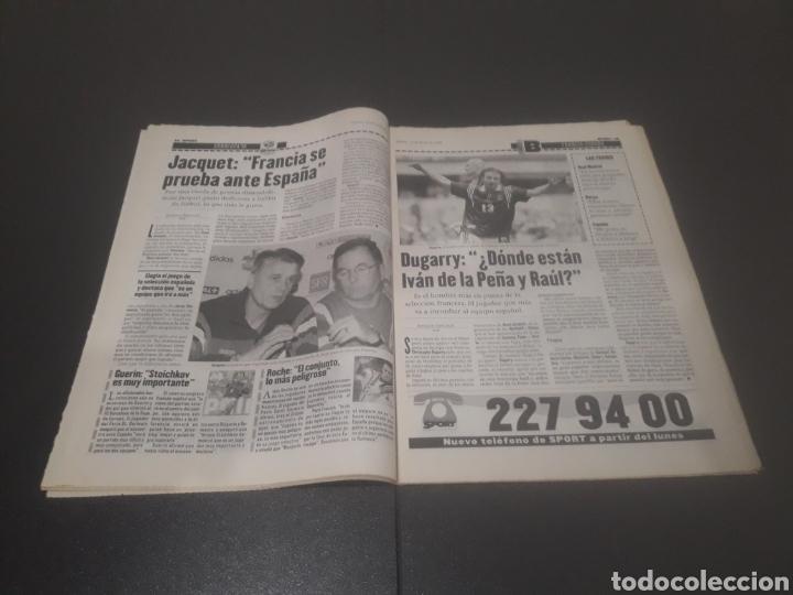 Coleccionismo deportivo: SPORT N° 5969. 15 DE JUNIO 1996. - Foto 8 - 256001540
