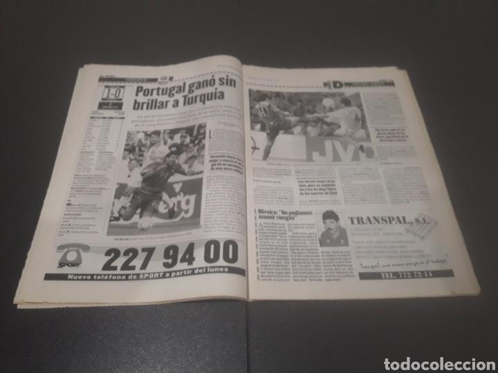 Coleccionismo deportivo: SPORT N° 5969. 15 DE JUNIO 1996. - Foto 12 - 256001540