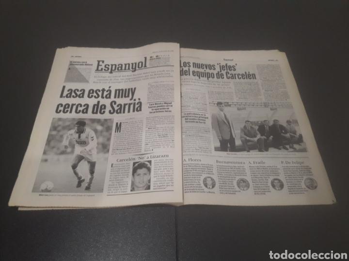 Coleccionismo deportivo: SPORT N° 5969. 15 DE JUNIO 1996. - Foto 24 - 256001540