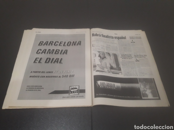 Coleccionismo deportivo: SPORT N° 5969. 15 DE JUNIO 1996. - Foto 34 - 256001540