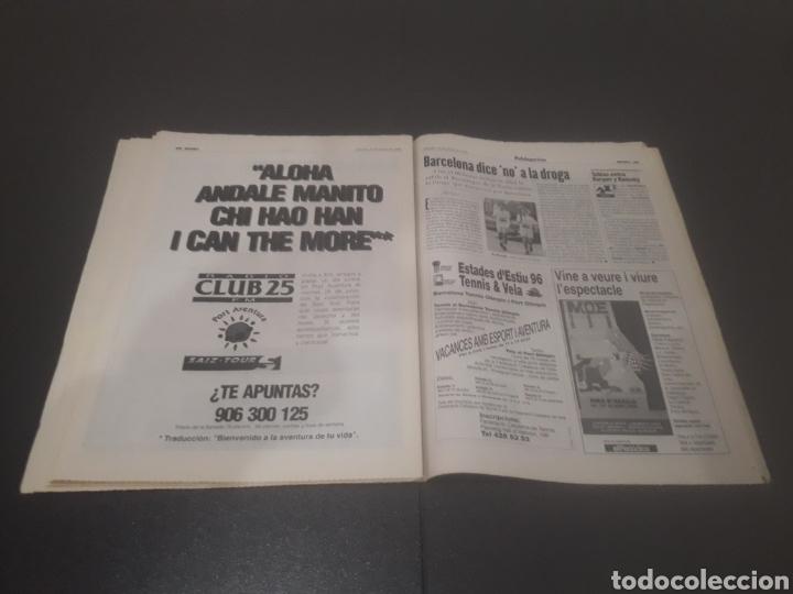 Coleccionismo deportivo: SPORT N° 5969. 15 DE JUNIO 1996. - Foto 35 - 256001540