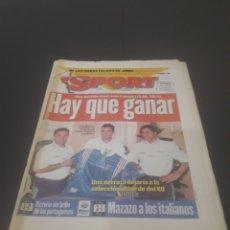 Coleccionismo deportivo: SPORT N° 5969. 15 DE JUNIO 1996.. Lote 256001540