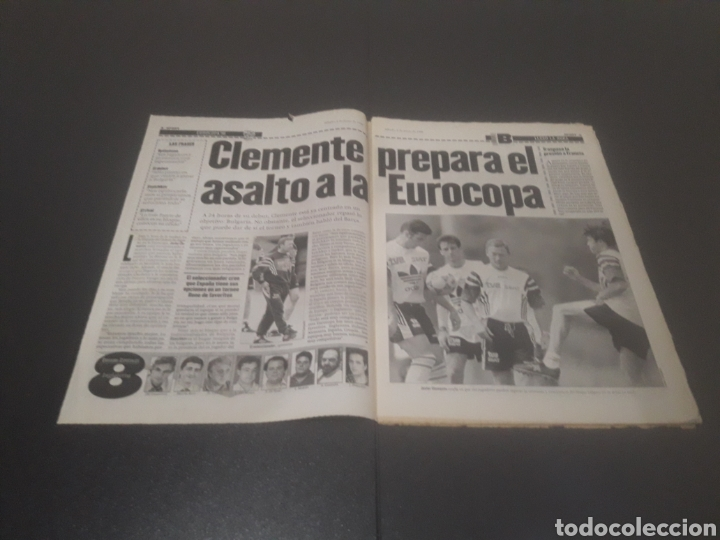 Coleccionismo deportivo: SPORT N° 5962. 8 DE JUNIO 1996. - Foto 2 - 256003390