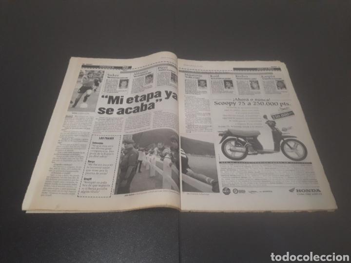 Coleccionismo deportivo: SPORT N° 5962. 8 DE JUNIO 1996. - Foto 6 - 256003390
