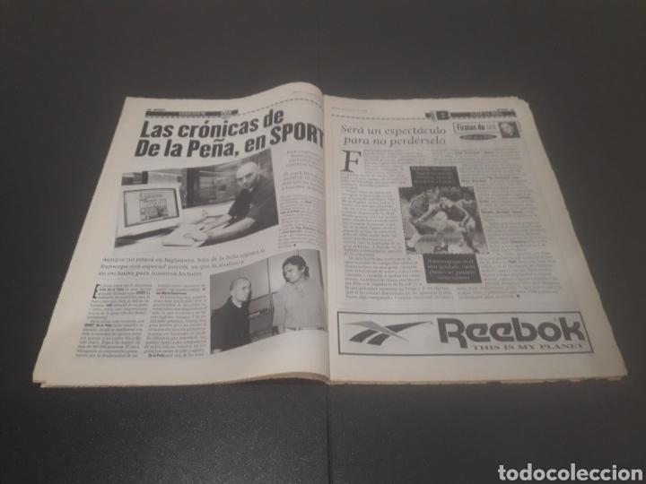 Coleccionismo deportivo: SPORT N° 5962. 8 DE JUNIO 1996. - Foto 9 - 256003390