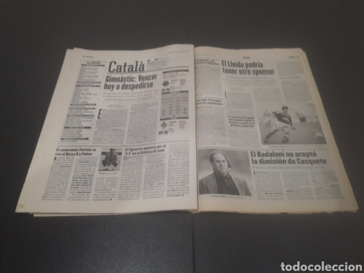 Coleccionismo deportivo: SPORT N° 5962. 8 DE JUNIO 1996. - Foto 23 - 256003390