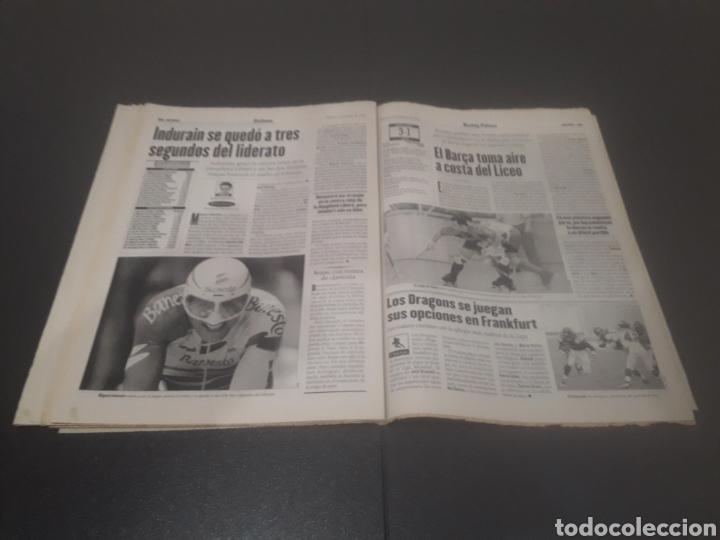 Coleccionismo deportivo: SPORT N° 5962. 8 DE JUNIO 1996. - Foto 30 - 256003390