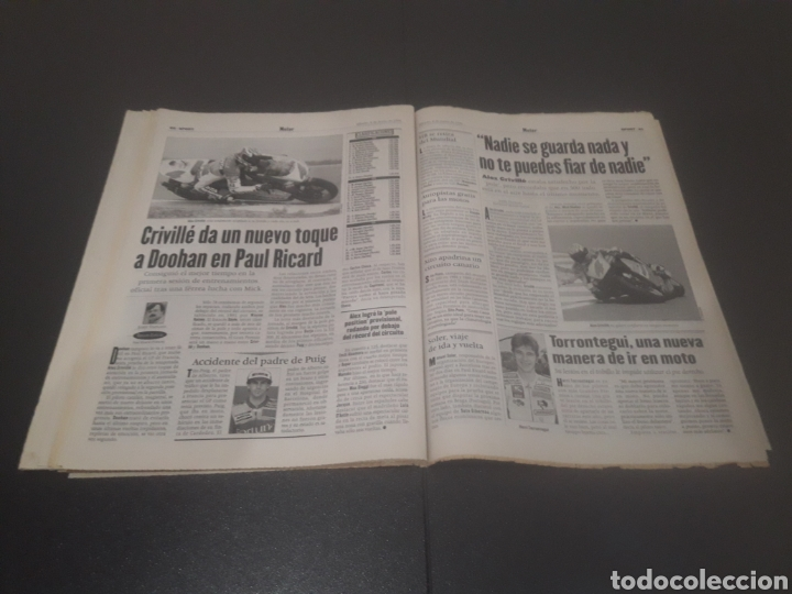 Coleccionismo deportivo: SPORT N° 5962. 8 DE JUNIO 1996. - Foto 31 - 256003390