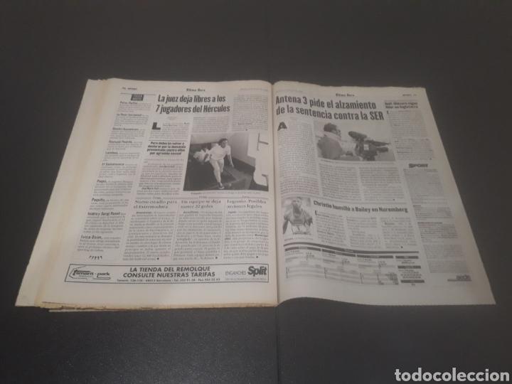 Coleccionismo deportivo: SPORT N° 5962. 8 DE JUNIO 1996. - Foto 36 - 256003390