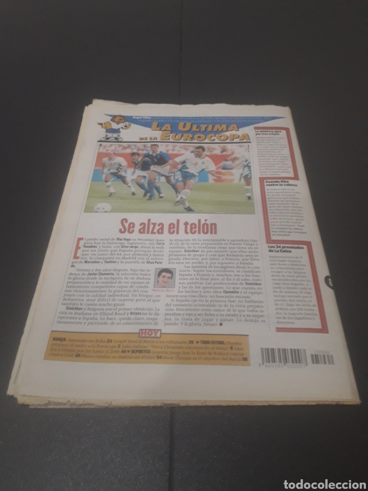 Coleccionismo deportivo: SPORT N° 5962. 8 DE JUNIO 1996. - Foto 37 - 256003390