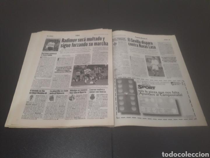 Coleccionismo deportivo: SPORT N° 6508. 9 DE DICIEMBRE 1997. - Foto 20 - 256005095