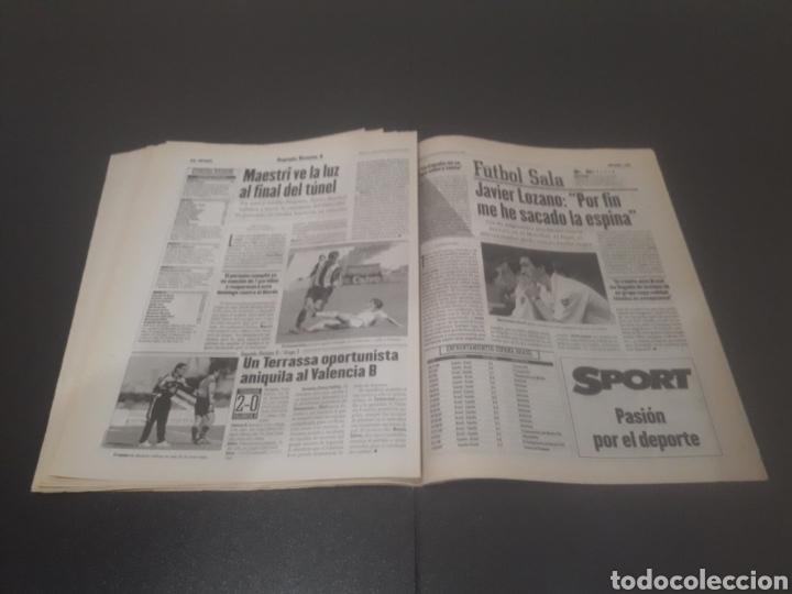 Coleccionismo deportivo: SPORT N° 6508. 9 DE DICIEMBRE 1997. - Foto 22 - 256005095