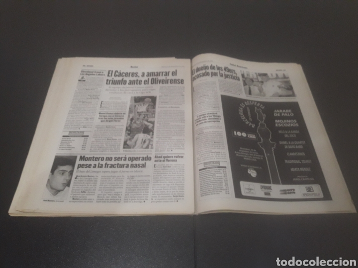 Coleccionismo deportivo: SPORT N° 6508. 9 DE DICIEMBRE 1997. - Foto 29 - 256005095
