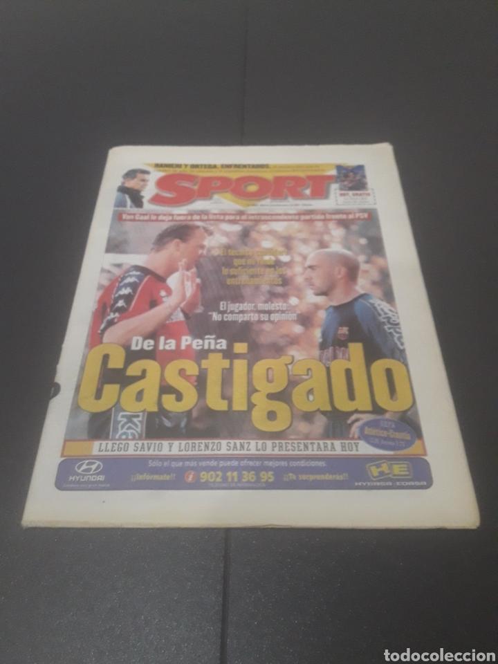 SPORT N° 6508. 9 DE DICIEMBRE 1997. (Coleccionismo Deportivo - Revistas y Periódicos - Sport)