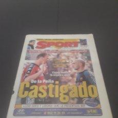 Coleccionismo deportivo: SPORT N° 6508. 9 DE DICIEMBRE 1997.. Lote 256005095