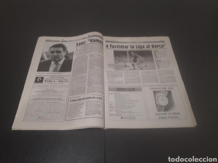 Coleccionismo deportivo: SPORT N° 5205. 7 DE MAYO 1994. - Foto 9 - 256006850