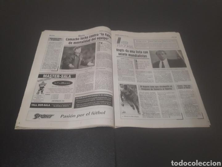 Coleccionismo deportivo: SPORT N° 5205. 7 DE MAYO 1994. - Foto 18 - 256006850