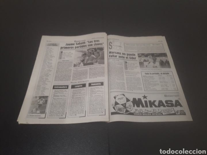 Coleccionismo deportivo: SPORT N° 5205. 7 DE MAYO 1994. - Foto 21 - 256006850