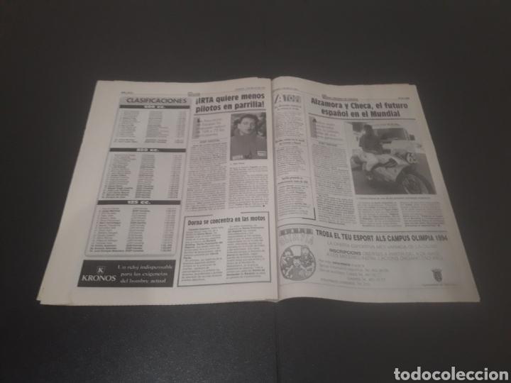 Coleccionismo deportivo: SPORT N° 5205. 7 DE MAYO 1994. - Foto 23 - 256006850
