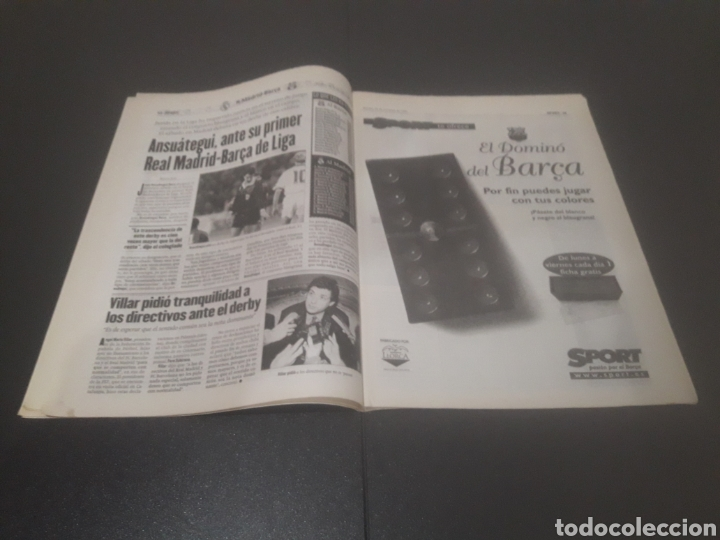 Coleccionismo deportivo: SPORT N° 6466. 28 DE OCTUBRE 1997. - Foto 8 - 256008765