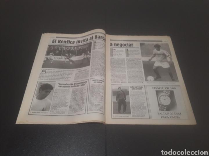 Coleccionismo deportivo: SPORT N° 5226. 28 DE MAYO 1994. - Foto 4 - 256010445