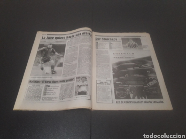 Coleccionismo deportivo: SPORT N° 5226. 28 DE MAYO 1994. - Foto 8 - 256010445