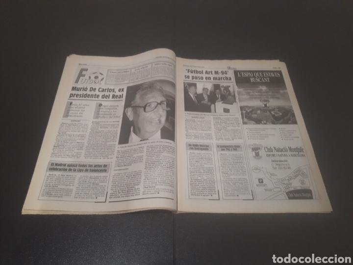 Coleccionismo deportivo: SPORT N° 5226. 28 DE MAYO 1994. - Foto 13 - 256010445