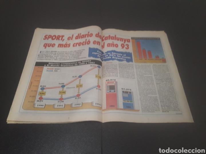 Coleccionismo deportivo: SPORT N° 5226. 28 DE MAYO 1994. - Foto 19 - 256010445