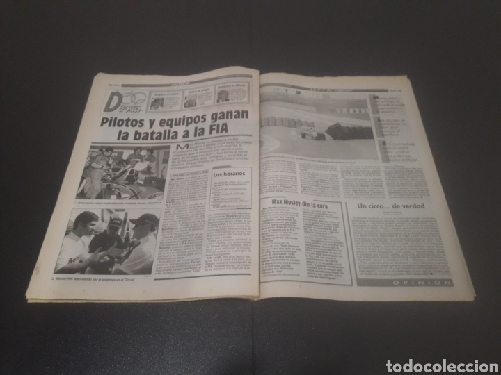Coleccionismo deportivo: SPORT N° 5226. 28 DE MAYO 1994. - Foto 20 - 256010445