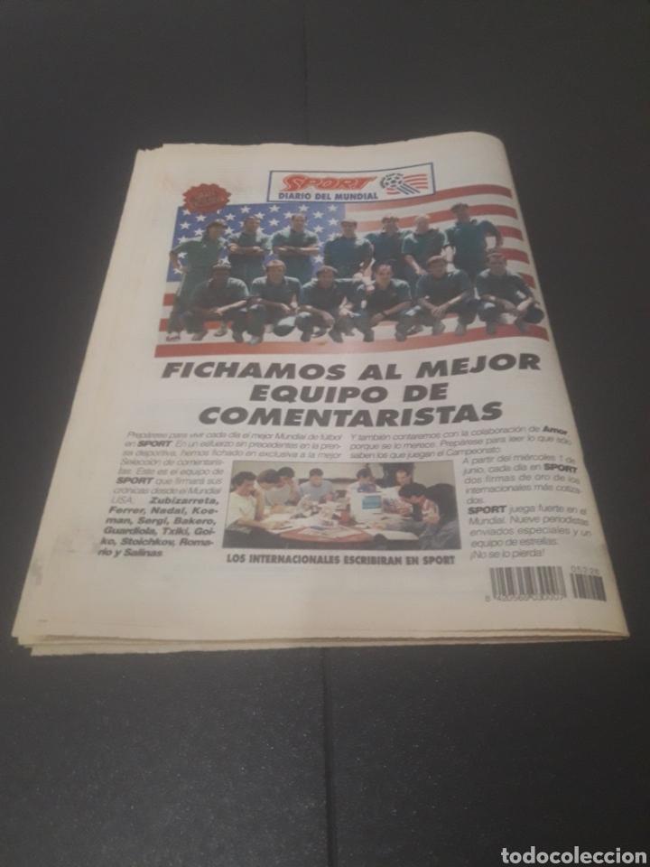 Coleccionismo deportivo: SPORT N° 5226. 28 DE MAYO 1994. - Foto 37 - 256010445