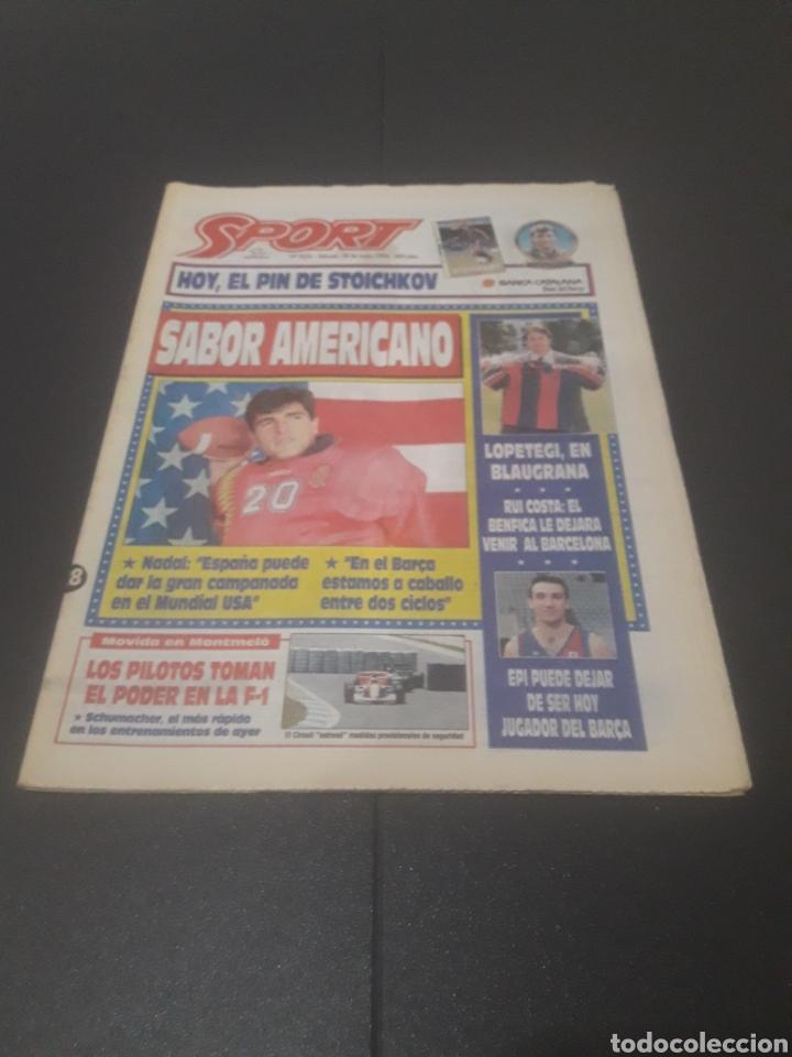 SPORT N° 5226. 28 DE MAYO 1994. (Coleccionismo Deportivo - Revistas y Periódicos - Sport)
