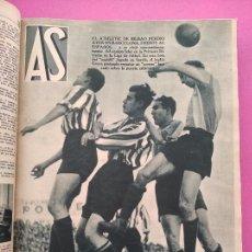 Colecionismo desportivo: TOMO 35 AS REVISTA SEMANAL DEPORTIVA Nº DEL 159 AL 209 AÑOS 1935-1936 - LIGA COPA - VUELTA CICLISTA. Lote 256012600