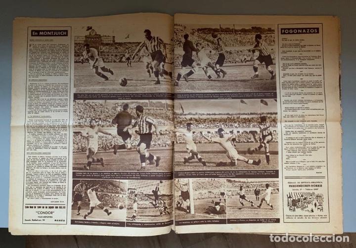 Coleccionismo deportivo: Revista Marca Athletic Club Campeón Copa 1944 - Foto 4 - 256075790
