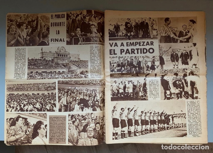 Coleccionismo deportivo: Revista Marca Athletic Club Campeón Copa 1944 - Foto 5 - 256075790