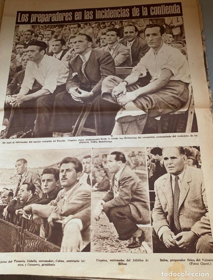 Coleccionismo deportivo: Revista Marca Athletic Club Campeón Copa 1944 - Foto 6 - 256075790
