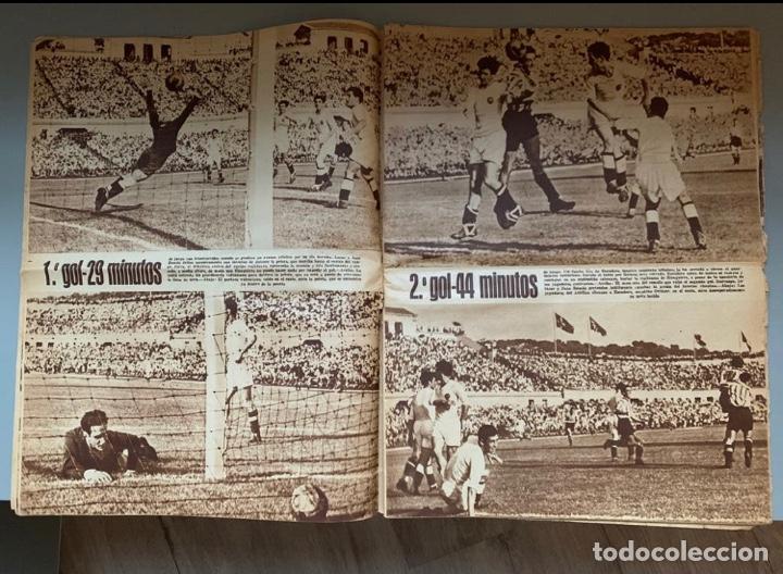 Coleccionismo deportivo: Revista Marca Athletic Club Campeón Copa 1944 - Foto 7 - 256075790