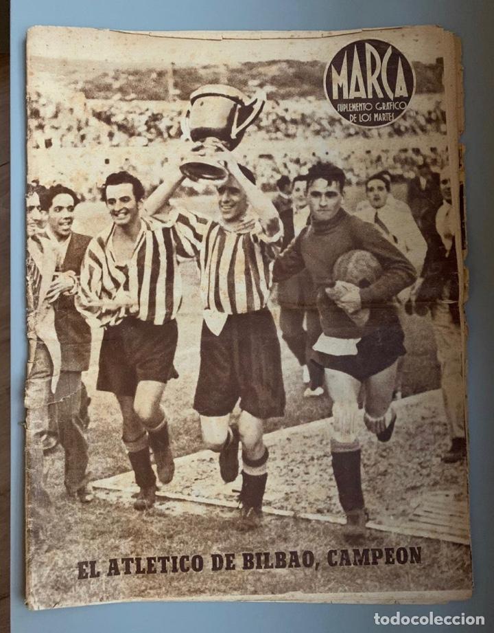REVISTA MARCA ATHLETIC CLUB CAMPEÓN COPA 1944 (Coleccionismo Deportivo - Revistas y Periódicos - Marca)