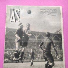 Coleccionismo deportivo: PERIODICO AS Nº 101 1934 PRIMERA COPA ESPAÑA BIZCAYA ATHLETIC CLUB - SAMITIER - MUNDIAL ITALIA 34. Lote 256124020
