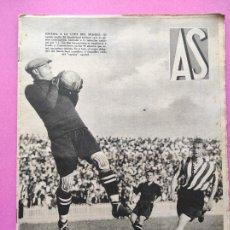 Coleccionismo deportivo: PERIODICO AS Nº 101 1934 SELECCION ESPAÑOLA PREPARACION MUNDIAL ITALIA 34 SUNDERLAND - ARGENTINA. Lote 256124240