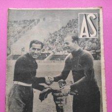 Coleccionismo deportivo: PERIODICO AS Nº 104 1934 ESPECIAL SELECCION ESPAÑOLA MUNDIAL ITALIA 34 - ESPAÑA-BRASIL OCTAVOS. Lote 256124640