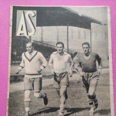 Coleccionismo deportivo: PERIODICO AS Nº 105 1934 MUNDIAL ITALIA 34 ITALY WINNER WORLD CUP - BARACALDO - VALLADOLID DEPORTIVO. Lote 256129150